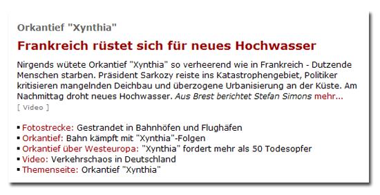Falsche Anführungszeichen bei Spiegel Online