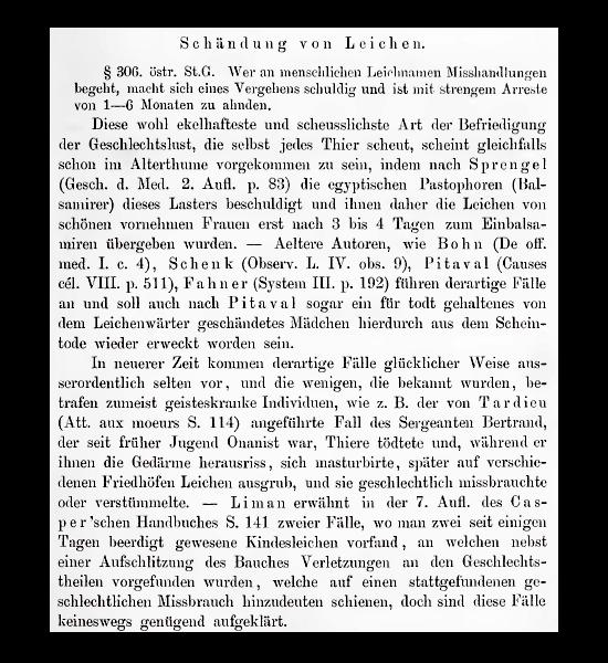 Handbuch der gerichtlichen Medicin