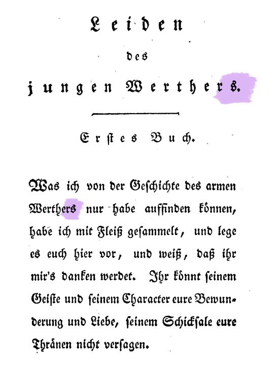 Richtiger Genitiv bei Goethe
