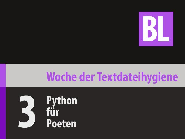 Python für Poeten (WTH‑03)